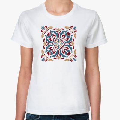 Классическая футболка Винтажный узор