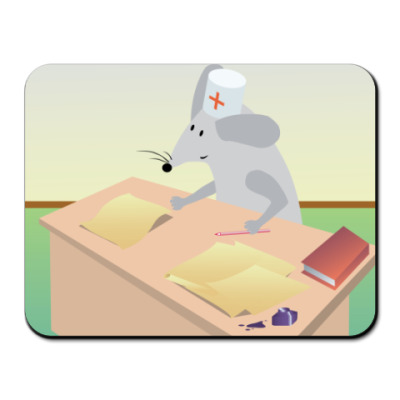 Коврик для мыши  Dr. Mouse