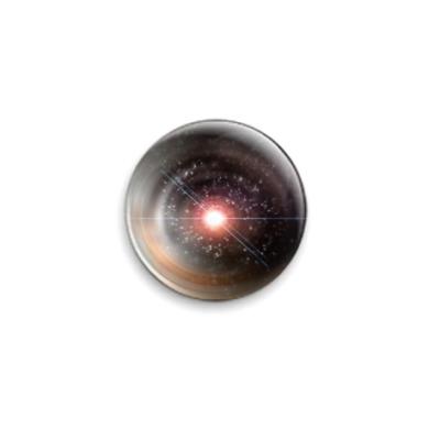 Значок 25мм  Взрыв Звезды