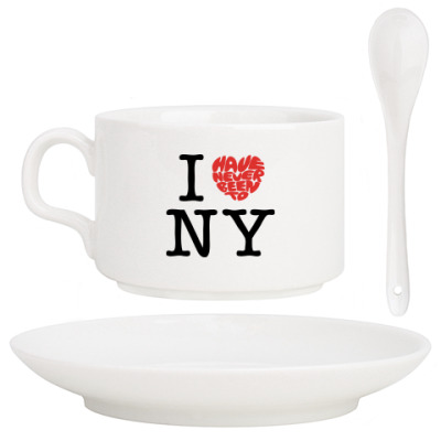 Кофейный набор I Have Never Been to NY