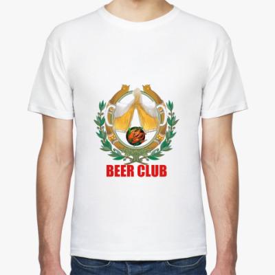 Футболка   beer