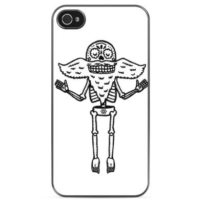 Чехол для iPhone Cкелет