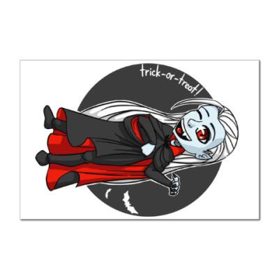 Наклейка (стикер) Вампир