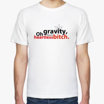 Футболка  'oh gravity'