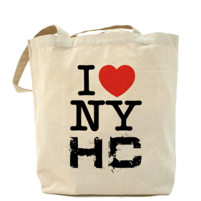 Сумка Холщовая сумка I <3 NYHC