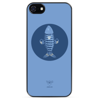 Чехол для iPhone Animal Zen: X is for X-ray tetra