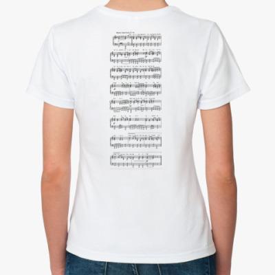 Классическая футболка  'Гимн России'
