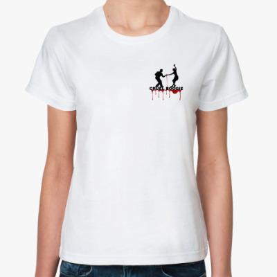 Классическая футболка CRUELBOOGIE GIRL