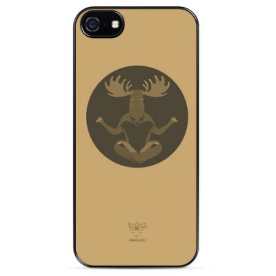 Чехол для iPhone Animal Zen: M is for Moose
