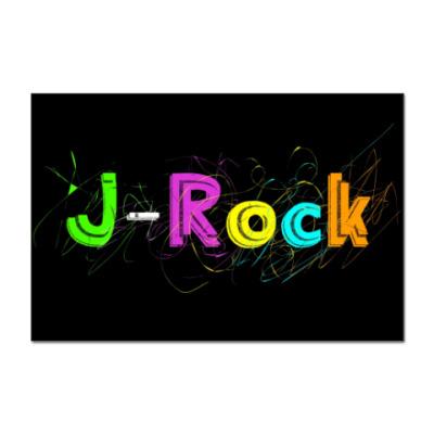Наклейка (стикер) J-Rock