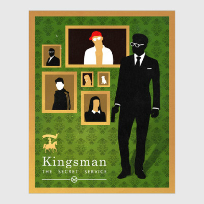 Постер KIngsman: The Secret Service