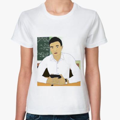 Классическая футболка Казахский мужчина