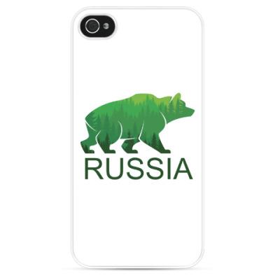 Чехол для iPhone Россия, Russia