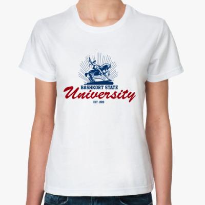 Классическая футболка БГУ