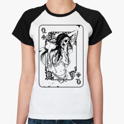 Женская футболка реглан 'Ved'Ma'