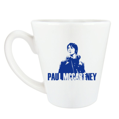 Чашка Латте Paul McCartney