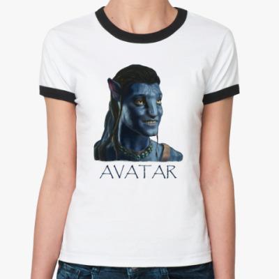 Женская футболка Ringer-T  Avatar
