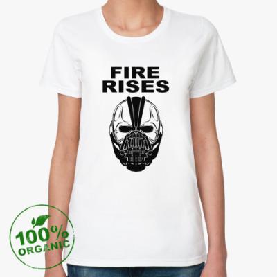 Женская футболка из органик-хлопка Бэйн