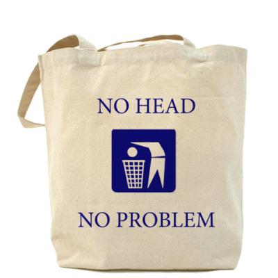"""Сумка Холщовая сумка """"no head"""""""