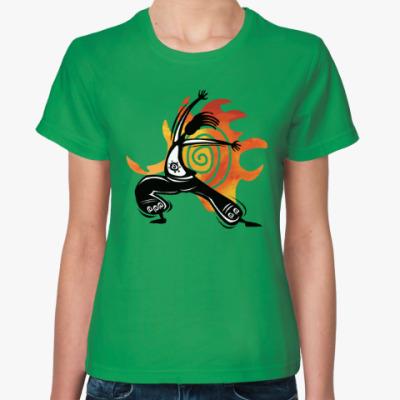 Женская футболка Yoga