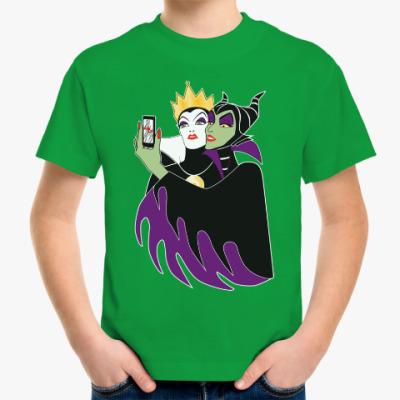 Детская футболка Селфи Малефисента