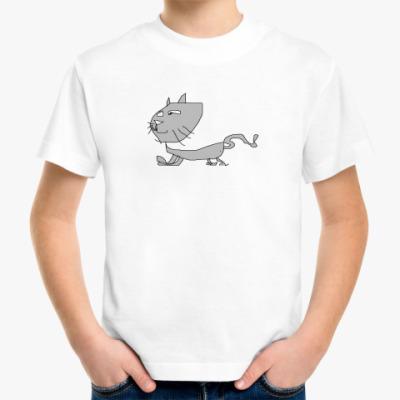 Детская футболка cat