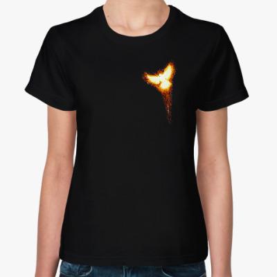 Женская футболка Феникс