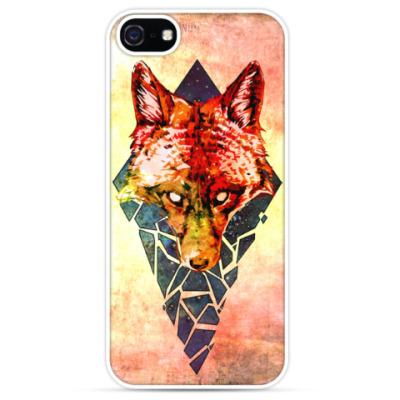 Чехол для iPhone Fox Brokenspace