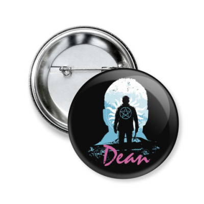 Значок 50мм Dean - Supernatural
