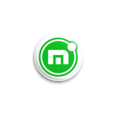 Значок 25мм Maxthon-значок!