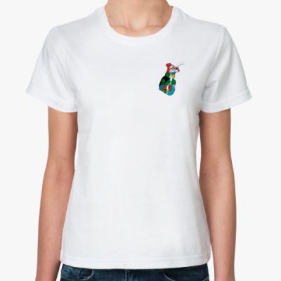 Классическая футболка heart love