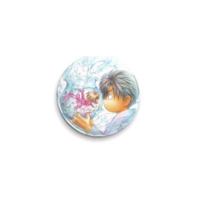 Значок 25мм  Кано/ Аясе(яой) 25 мм