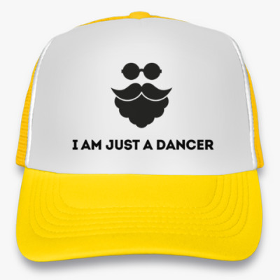 Кепка-тракер I am just a dancer