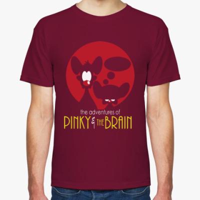 Футболка Приключения Пинки и Брэйна