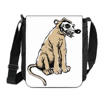 Сумка на плечо (мини-планшет) Clown Dog