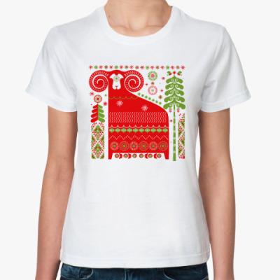 Классическая футболка Баран