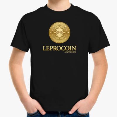 Детская футболка Leprocoin
