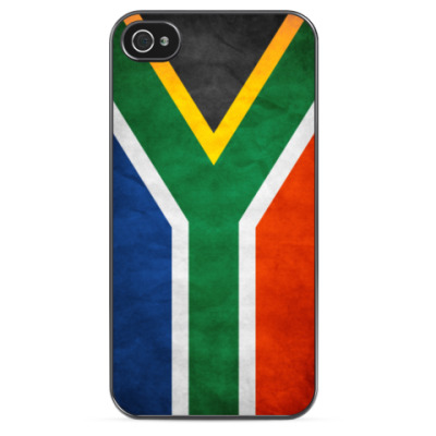 Чехол для iPhone Флаг ЮАР