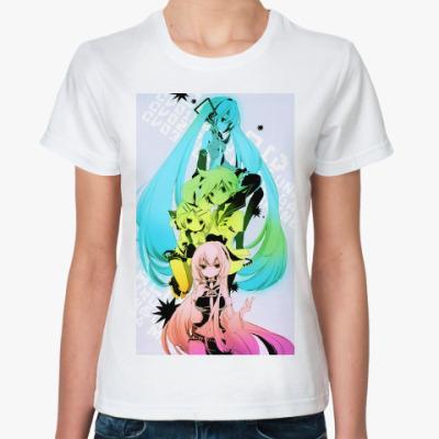 Классическая футболка 'Vocaloid'