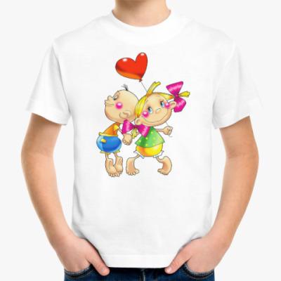 Детская футболка ДЕТИ С СЕРДЕЧКОМ