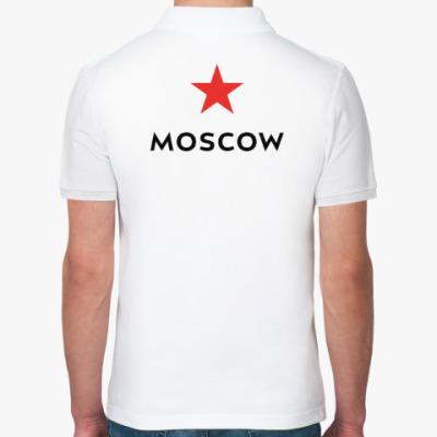 Рубашка поло логотип Москвы