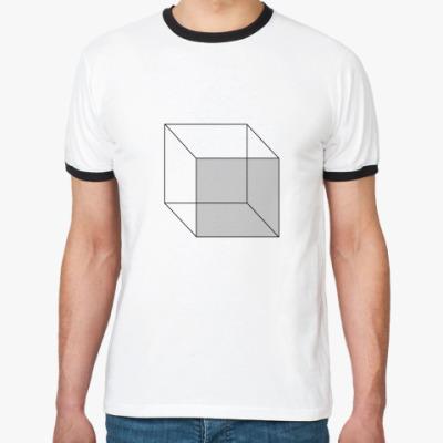 Футболка Ringer-T Волшебный куб