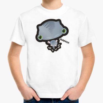 Детская футболка котенок
