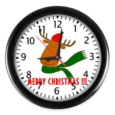 Настенные часы Merry Christmas!