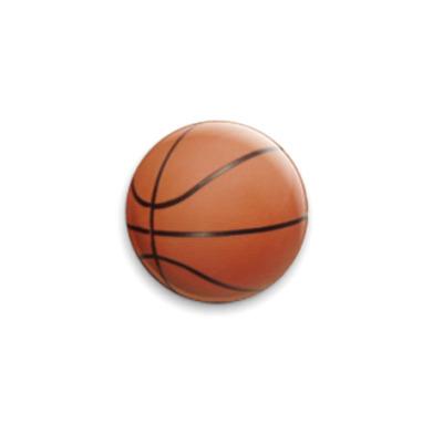 Значок 25мм  Баскетбол