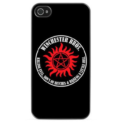 Чехол для iPhone Winchester Bros.