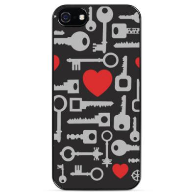 Чехол для iPhone Ключ от сердца