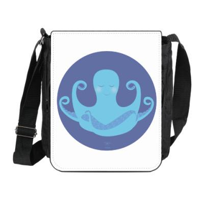Сумка на плечо (мини-планшет)  Animal Zen: O is for Octopus