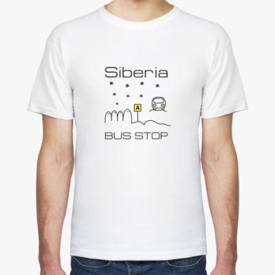Футболка Siberia Bus Stop t-shirt