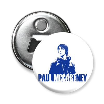 Магнит-открывашка Paul McCartney